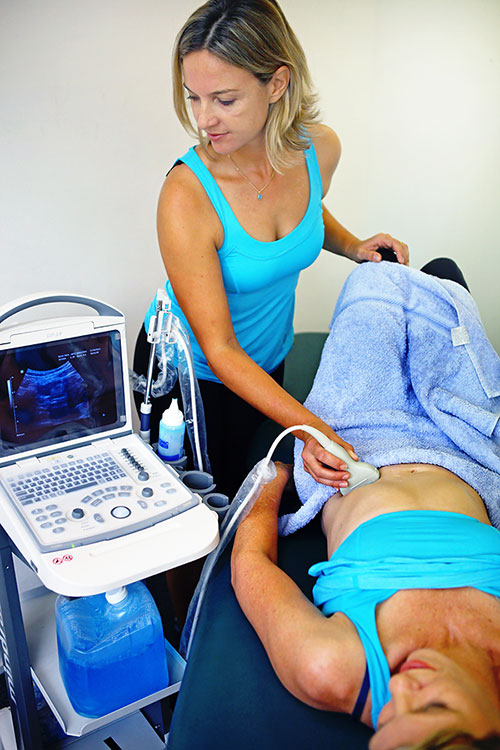 Real Time Ultrasound Assessment
